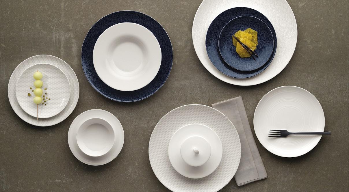 Porcelaines Purity Coup avec décor
